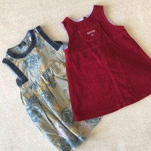 Bundle! Gap baby and Tommy Hilfiger baby dress